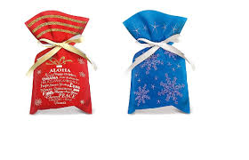 christmas gift bag gift bag drawstring small