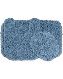 Shaggy Bathroom Rugs Savings On Garland Jazz Shaggy 3pc Bathroom Rug Set Chili Pepper