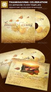 thanksgiving cd thanksgiving celebration cd artwork template by loswl graphicriver