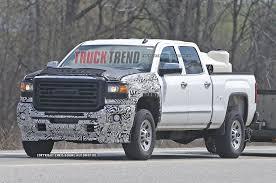 Chevy Silverado New Trucks - spied 2016 2017 chevrolet gmc 1500 hd trucks