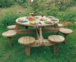 How To Build A Round Wooden Picnic Table by Best 25 Picnic Tables Ideas On Pinterest Diy Picnic Table