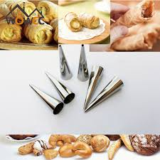 aliexpress com buy 15pcs diy stainless steel horn bread baking