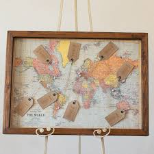 Cork World Map by Map Wedding Table Plan By The Wedding Of My Dreams