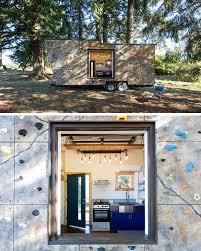 10 modern houses with rock climbing walls contemporist