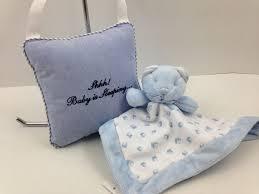Ralph Lauren Blankets Nwt Ralph Lauren Baby Bear Security Blanket Sleeping Pillow Blue