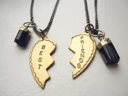gold best friends necklace images 59 best friends necklaces for 2 best friends necklace bff jpg
