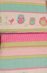 Cynthia Rowley Bedding Queen New Cynthia Rowley Pastel Owls 7pc Twin Size Quilt Sheets Pillow