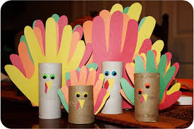 turkey toilet paper roll craft paint chip turkey craft for