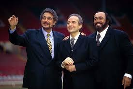 the three tenors pavarotti domingo and carreras