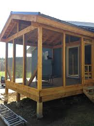 Shed Roof Screened Porch Screened Porch Addition U2013 Timberpoint Building