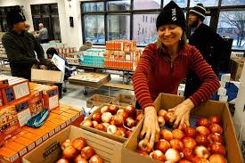 it takes a vail valley salvation army to fill 600 food baskets