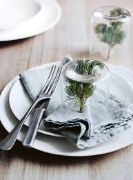 donna hay u0027s trick for instant mini christmas tree place settings