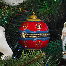 porcelain secret hinged ornaments tree gallery