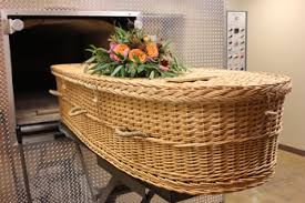 wicker casket eco friendly caskets passages international