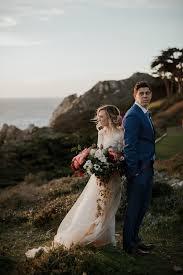 intimate big sur destination wedding northern california wedding