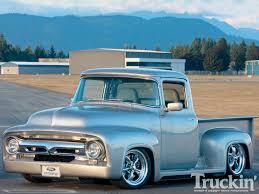 Vintage Ford Truck Mirrors - 1956 ford f100 5 0l v8 dohc engine truckin u0027 magazine