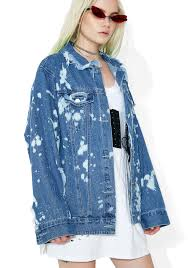 halloween city san dimas ca san dimas distressed denim jacket dolls kill
