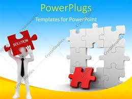 puzzle powerpoint template powerpoint template displaying