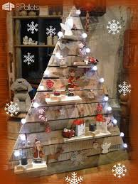 pallet christmas tree 40 pallet christmas trees decorations ideas page 2 of
