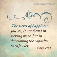 Seeking Quotes The Secret Of Happiness The Daily Quotes