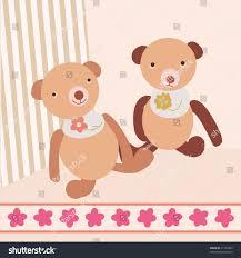 bear template card stock vector 71724409 shutterstock