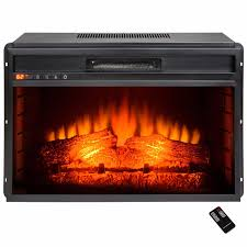 30 u2033 freestanding portable electric fireplace heater w remote y