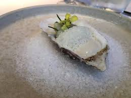 cuisine chantilly chantilly of oyster tartare of sea bream and frozen wasabi