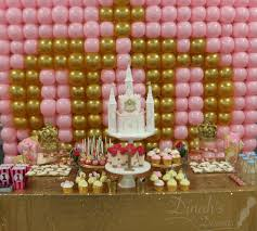 pink and gold cake table decor pink gold desserts table and castle cake dinah s desserts