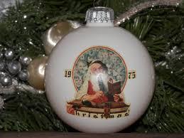 vintage norman rockwell ornament by tresorsenchantes