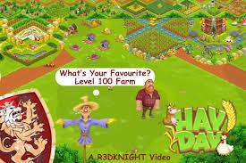 hay day level 100 cool farm designs youtube