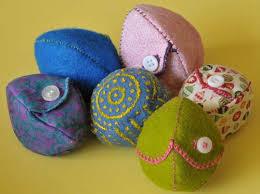 felt easter eggs alternatives to plastic easter eggs