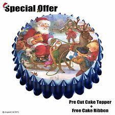 Vintage Christmas Cake Decorations Ebay by Vintage Christmas Cake Decorations Ebay