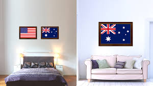 australia country flag home decor office wall art collection