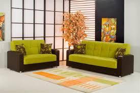 vrooms modern green living room