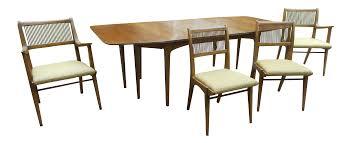 drexel dining room chairs john van koert drexel expandable chair dining table set chairish
