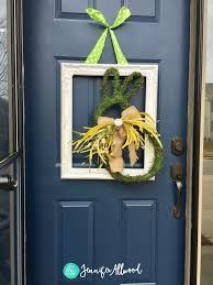 Spring Wreath Ideas Diy Spring Wreath Spring Door Decor Ideas Magic Brush