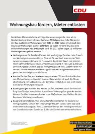 Haus Und Wohnung Kaufen Michael Vietz Cdu Will Privaten Haus Und Wohnungskauf Fördern