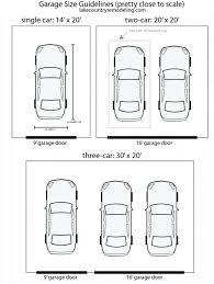 average 3 car garage size average two car garage size superjumboloans info