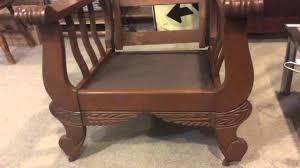 Morris Chair Morris Chair Antique Solid Oak Youtube