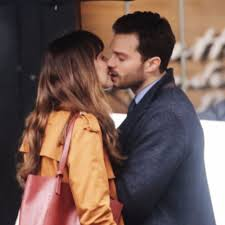 fifty shades of grey fifty shades darker pda set pictures popsugar entertainment