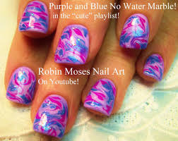 nail art designs nail art diy no water marble nail design tutorial