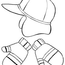 coat for winter clothing coloring page coat for winter clothing
