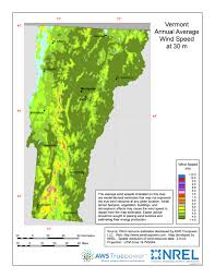 Vermont vegetaion images Windexchange vermont 30 meter residential scale wind resource map jpg
