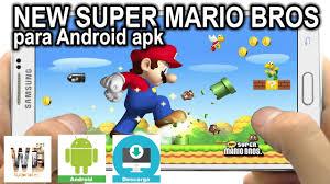 mario apk instalar new mario bros apk para android noviembre 2016