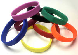 colored rubber bracelet images Great wristbands articles jpg