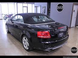 audi a4 2007 convertible 2007 audi a4 2 0t quattro s line cabrio w 87k