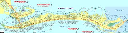 Map Of Florida Gulf Side by Fort Myers Beach Map Fort Myers Beach Vacation Rentals Beach