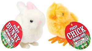 fuzzy easter happy hopper fuzzy and easter bunny wind up