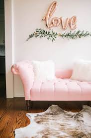 Cute Pink Rooms by Best 25 Pink Sofa Ideas On Pinterest Blush Grey Copper Living