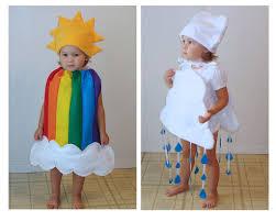rainbow and rain cloud costumes kids u0027 group halloween costume